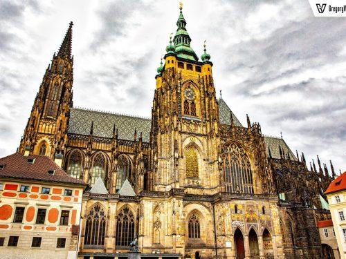Prague Castle in HDR