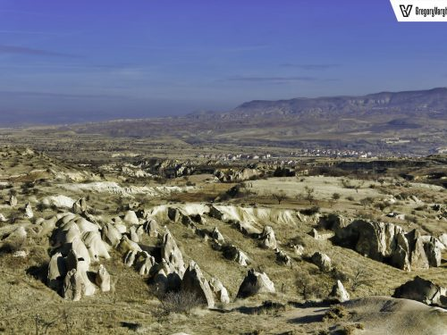 Caves Over Anatolian Plains